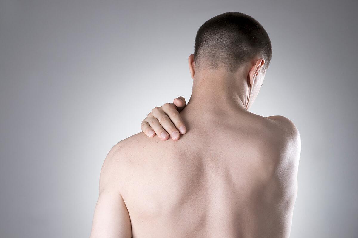 Sport mit Schulterschmerzen